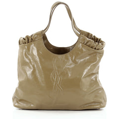 Saint Laurent Belle De Jour Cabas Tote Patent Large