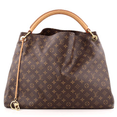 Louis Vuitton Artsy Handbag Monogram Canvas GM