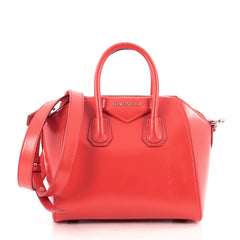 Givenchy Antigona Bag Glazed Leather Mini