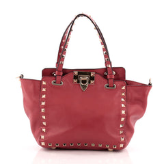 Valentino Rockstud Tote Soft Leather Mini
