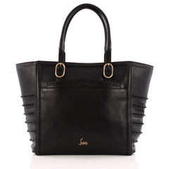 Christian Louboutin Farida Tote Spiked Leather Large
