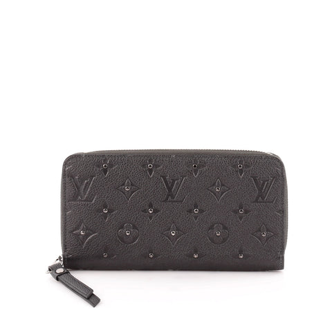 Buy Louis Vuitton Zippy Wallet Studded Monogram Empreinte 1112602 – Rebag cbe836dc8