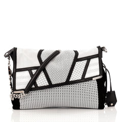 Jimmy Choo Ally Bag Perforated Leather Medium