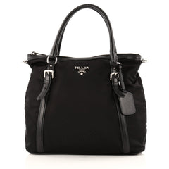 Convertible Belted Tote Tessuto Medium