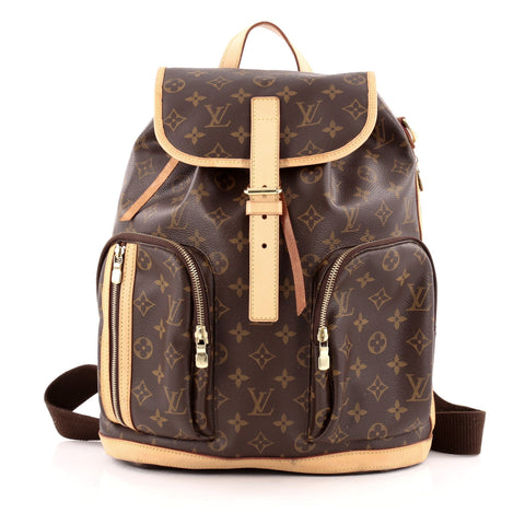 b79f64515c585 Buy Louis Vuitton Bosphore Backpack Monogram Canvas Brown 1124801 – Rebag