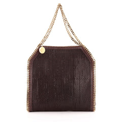 Stella McCartney Falabella Tote Woven Faux Leather Small