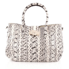 Jimmy Choo Rania Convertible Satchel Elaphe Large