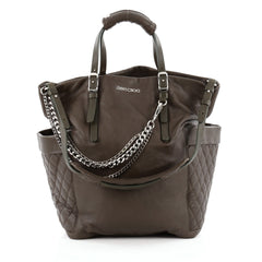 Jimmy Choo Blare Convertible Tote Leather