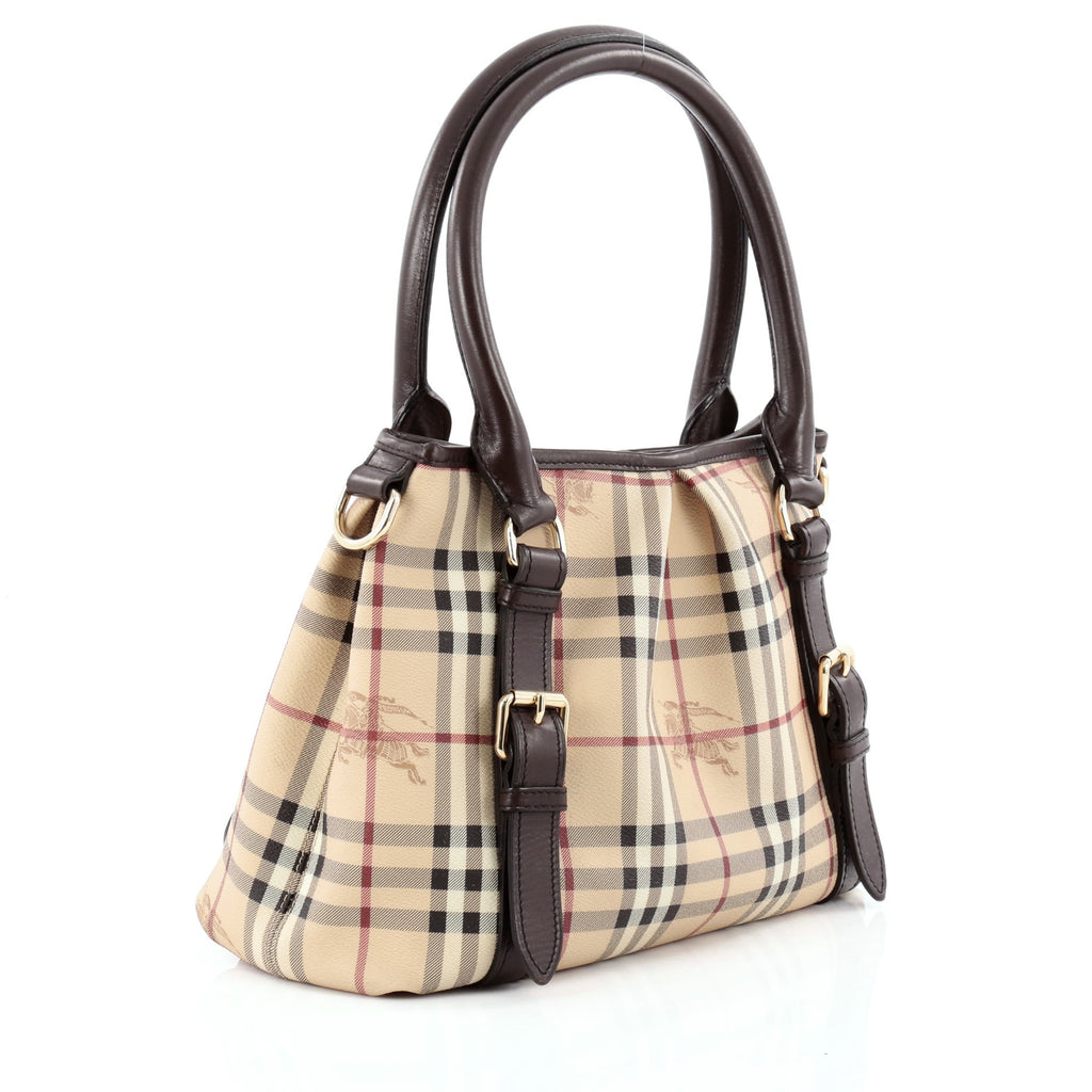 bc1057c5a103 Buy Burberry Northfield Convertible Tote Haymarket Coated 1138801 ...