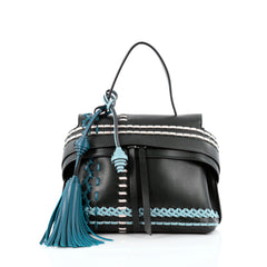 Tod's Convertible Wave Bag Stitched Leather Small