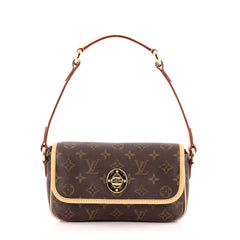 Louis Vuitton Tikal Handbag Monogram Canvas PM Brown