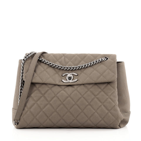 2d6c6f338075 Buy Chanel Lady Pearly Flap Bag Quilted Matte Caviar Large 1158501 – Rebag