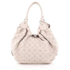 Louis Vuitton L Hobo Mahina Leather