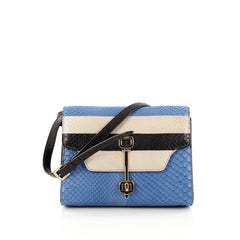 Tod's Rajpur Flap Bag Python Mini