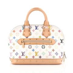 Louis Vuitton Alma Handbag Monogram Multicolor PM