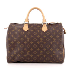 Louis Vuitton Speedy Handbag Monogram Canvas 35