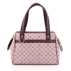 Louis Vuitton Josephine Handbag Mini Lin PM
