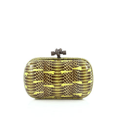 Bottega Veneta Box Knot Clutch Ayers Small