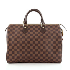 Louis Vuitton Speedy Handbag Damier 35