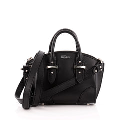 Alexander McQueen Legend Convertible Satchel Leather Mini