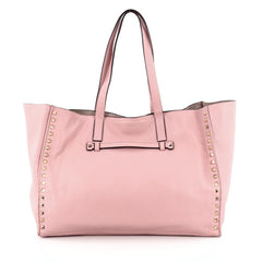 Valentino Rockstud Open Tote Leather Medium