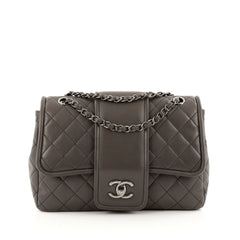 Chanel Elementary Chic Flap Bag Quilted Lambskin Medium