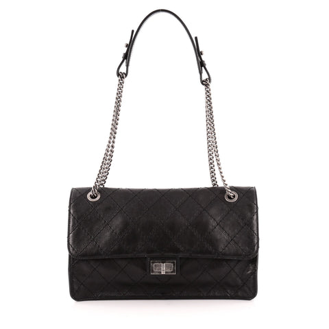 85742dc04b13 Buy Chanel CC Crave Reissue Flap Bag Quilted Calfskin Jumbo 1219801 – Rebag