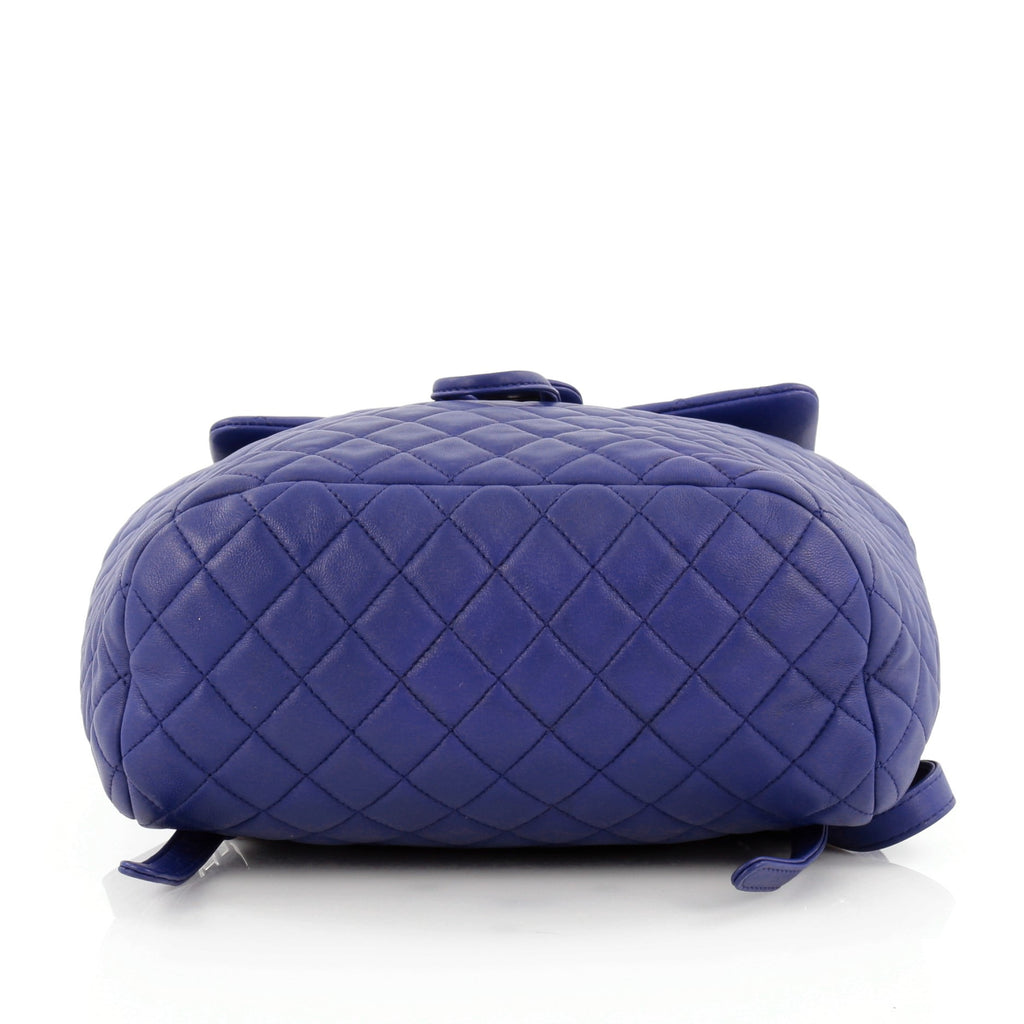 9f3291e7e114 Buy Chanel Urban Spirit Backpack Quilted Lambskin Large Blue 1221601 ...