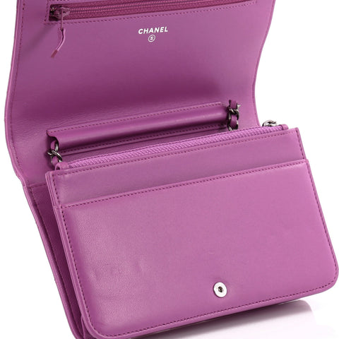 Buy Chanel Coco Boy Wallet on Chain Quilted Lambskin Purple 1224201 – Rebag a5d5f6e65f0c4