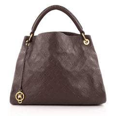 Louis Vuitton Artsy Handbag Monogram Empreinte Leather MM
