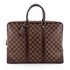Louis Vuitton Porte-Documents Voyages Bag Damier