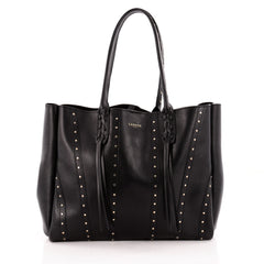 Lanvin Nela Shopper Tote Studded Leather Large