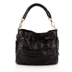 Christian Dior Libertine Hobo Leather Small