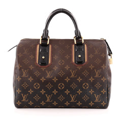 Louis Vuitton Speedy Handbag Limited Edition Monogram Mirage 30