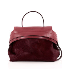 Tod's Convertible Wave Bag Pony Hair Mini