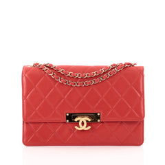 Chanel Golden Class Flap Bag Quilted Lambskin Large