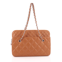 Chanel In The Business Camera Bag Quilted Calfskin Large