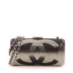 Chanel Hollywood Minaudiere Metal Mesh