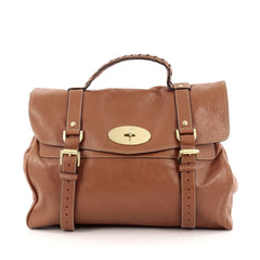 Mulberry Alexa Satchel Soft Buffalo Oversized