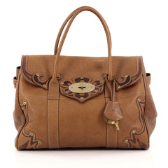 Mulberry Bayswater Tote Tooled Darwin Leather Medium
