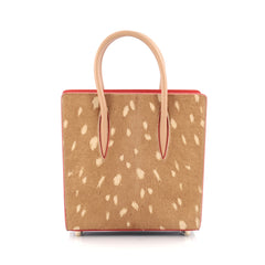 Christian Louboutin Paloma Tote Pony Hair and Leather Small