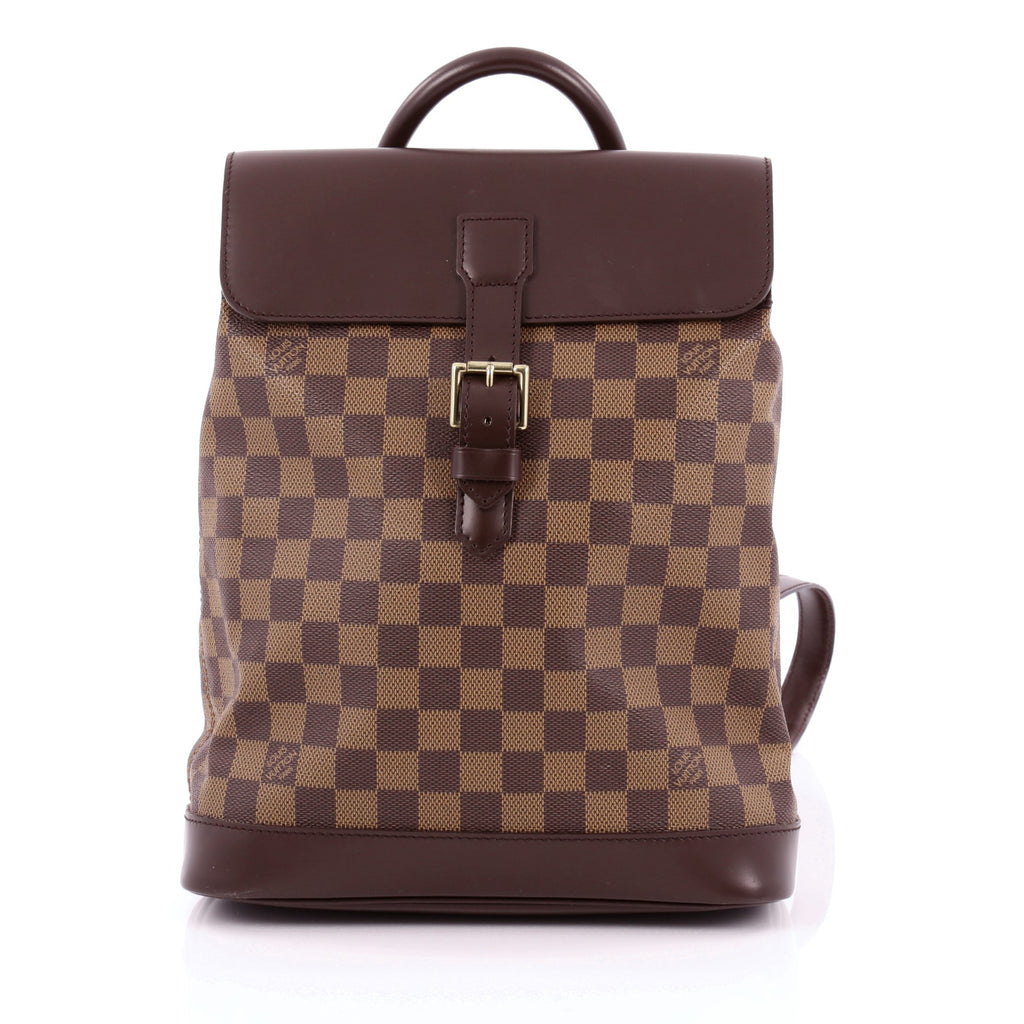 052f89ff85f7 Buy Louis Vuitton Soho Backpack Damier Brown 1286701 – Rebag