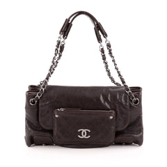 Chanel Pocket in the City Tote Caviar East West