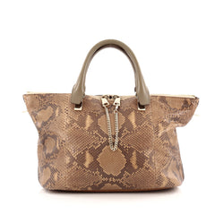 Chloe Baylee Satchel Python and Leather Medium