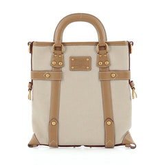 Louis Vuitton Trianon Poids Plume Toile and Leather PM