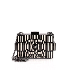 Chanel Lego Clutch Plexiglass