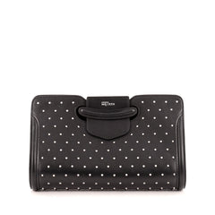 Alexander McQueen Heroine Clutch Studded Leather