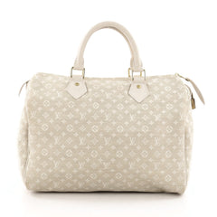 Louis Vuitton Speedy Handbag Mini Lin 30
