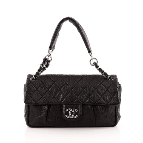 e753e006a8fd Buy Chanel Lady Braid Chain Flap Bag Quilted Distressed 1327102 – Rebag