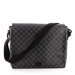 Louis Vuitton District Bag Damier Graphite GM